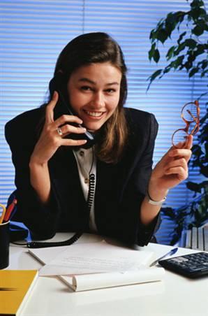 Секретарь на домашнем телефоне