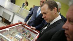 Премьер-министр РФ Д. Медведев лично проверил работу малых и средних предпринимателей в Улан-Удэ