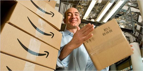 Джефф Безос: секрет успеха интернет-магазина Amazon.com