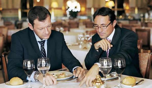 Деловой обед. Как себя должен вести бизнесмен?
