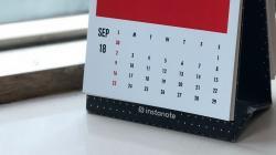 Календарь - хороший инструмент для организации рабочего времени.