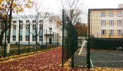 Ограждения территории школы.Организация безопасности детей.