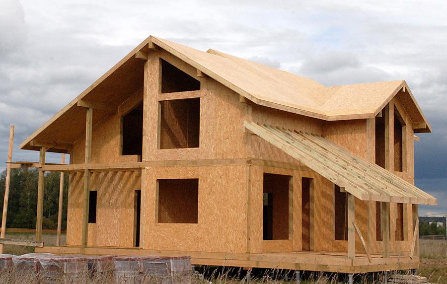 Отличительные особенности домов из СИП панелей