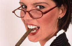 Бизнес-woman – найдите 10 отличий!
