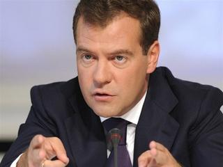 Утверждение Д. Медведева на пост председателя российского правительства было ошибкой