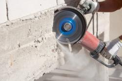 В чем преимущества технологии алмазной резки бетона?
