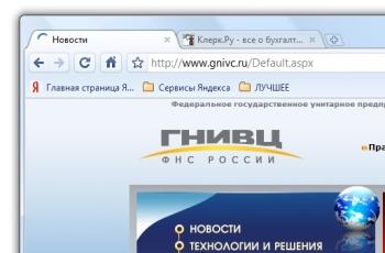 Официальные данные о ФНС России