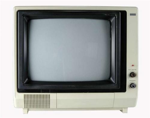 Черно-белые телевизоры!