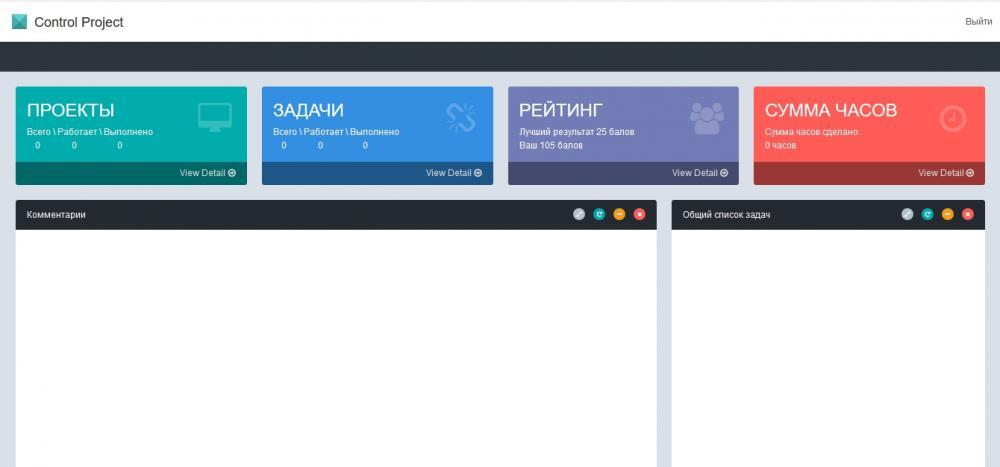 Project Сontrol – система управления проектами