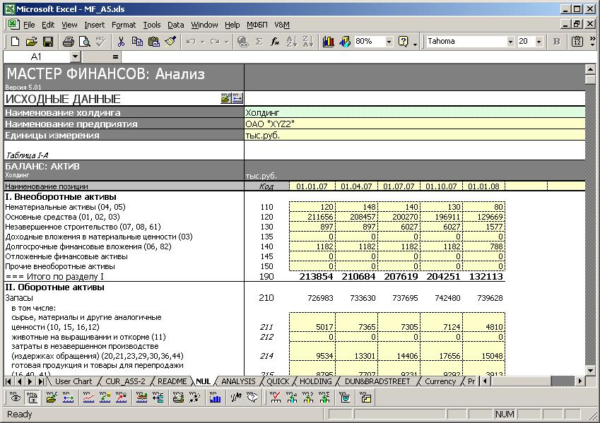 МАСТЕР ФИНАНСОВ: Анализ и планирование скачать программу