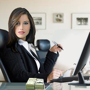Женское лицо успеха