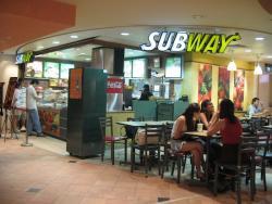 Ресторанный бизнес под крышей Subway